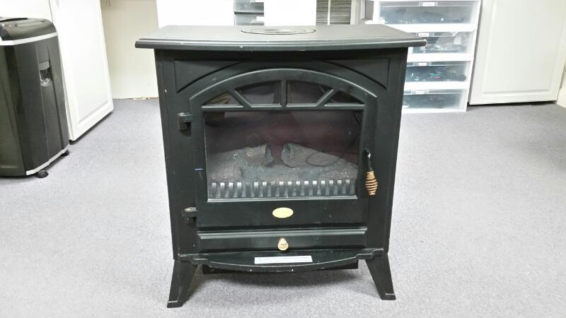 CHARMGLOW HEATER HBL-155DLP/M20 FREE STANDING ELECTRIC FIREPLACE
