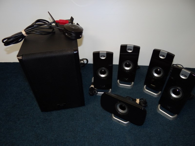 CYBER ACOUSTICS Computer Speakers CA-5402