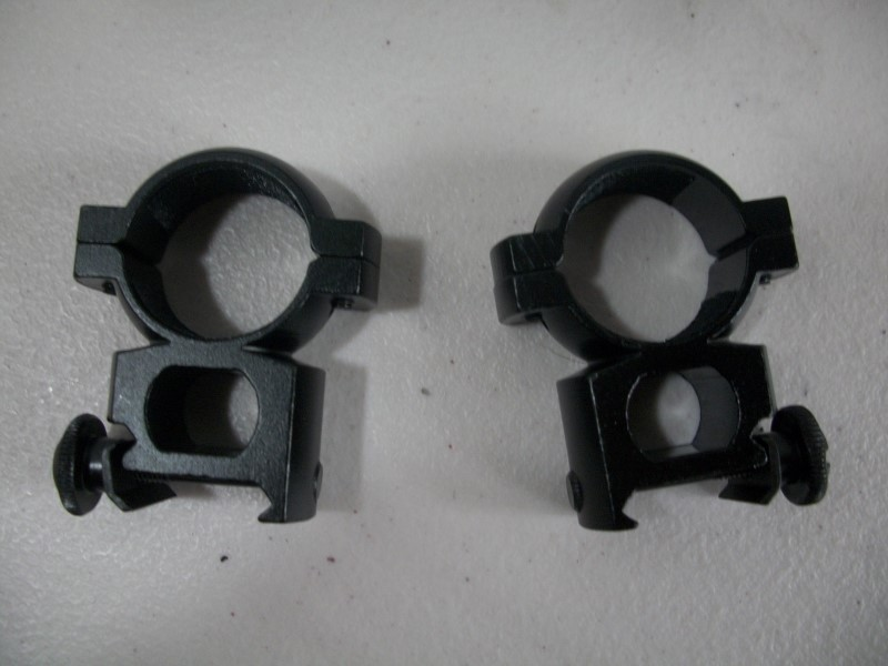 "TARGET Firearm Parts 1"" EXTRA HIGH SEE THRU WVR RING SET"