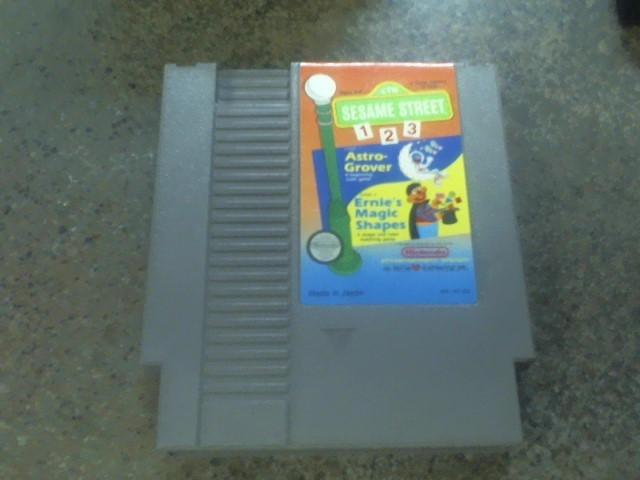 NINTENDO Nintendo NES SESAME STREET ABC & 123