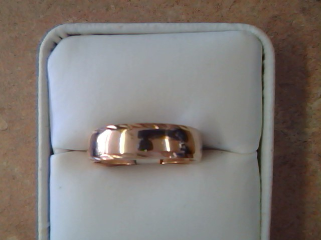 BAND RING JEWELRY , 14KT, 6.10 G