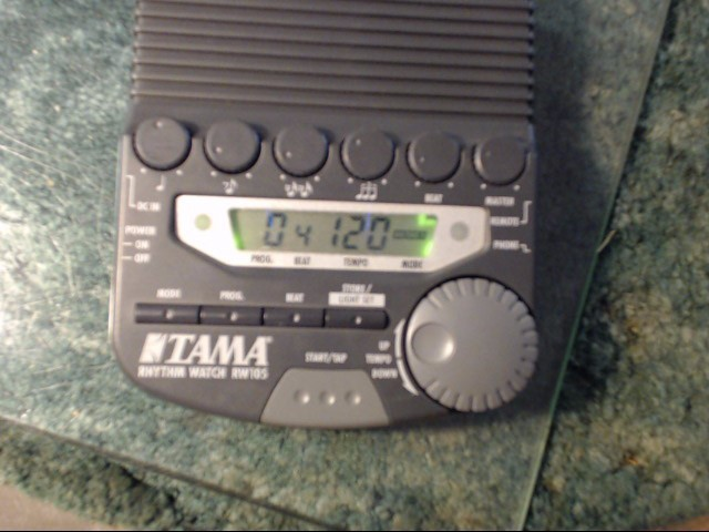 TAMA Percussion Part/Accessory RHYTHM WATCH RW105