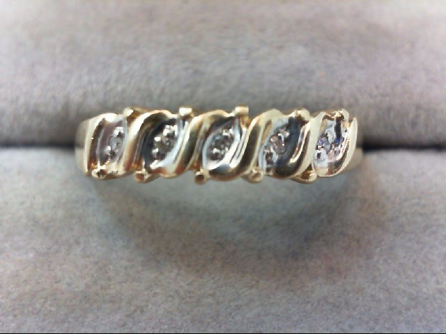 Lady's Gold Ring 10K Yellow Gold 2.5g