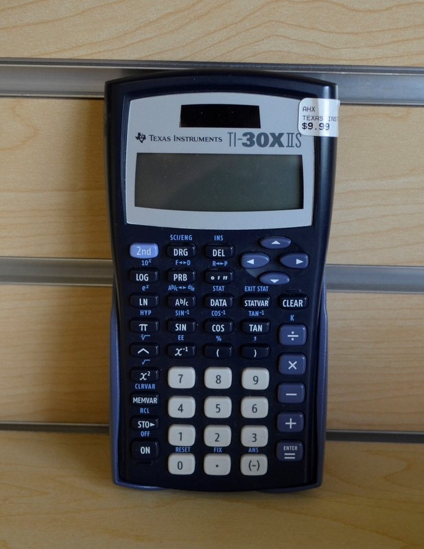 TEXAS INSTRUMENTS SCI CALCULATOR S/S-040 TI-30XIIS