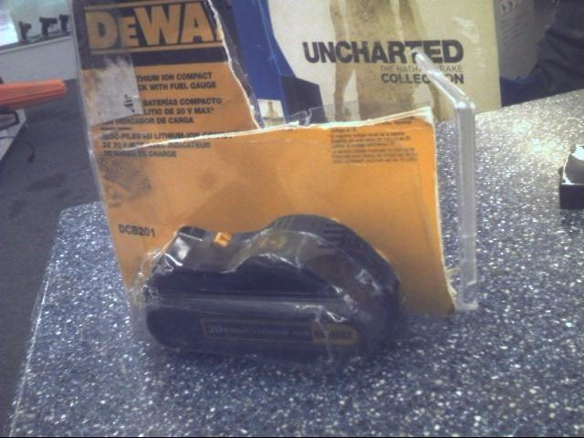 DEWALT Battery/Charger DCB201