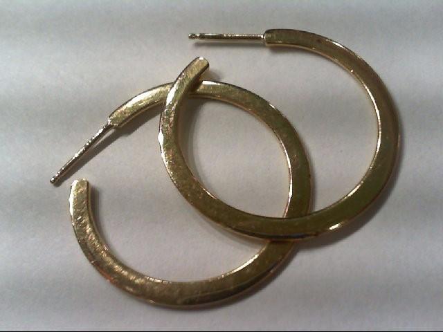 Gold Earrings 14K Yellow Gold 3.6g