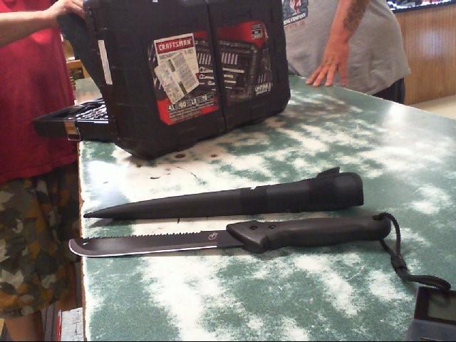 GERBER Hunting Knife GATOR MACHETE