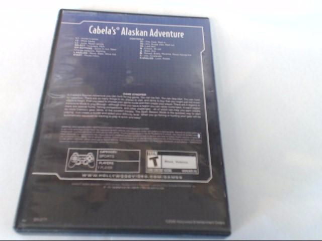 SONY PLAYSTATION 2 CABELA'S ALASKAN ADVENTURE