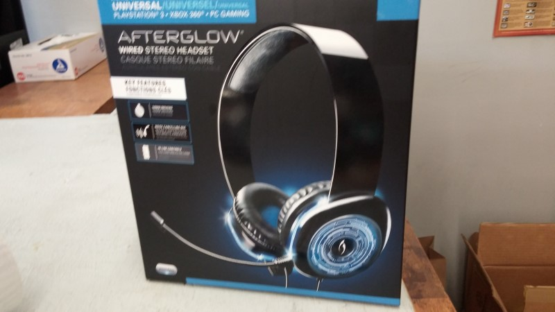 PDP Video Game Accessory AFTERGLOW HEADSET