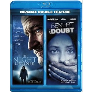 BLU-RAY MOVIE Blu-Ray NIGHT LISTENER AND BENEFIT OF THE DOUBT