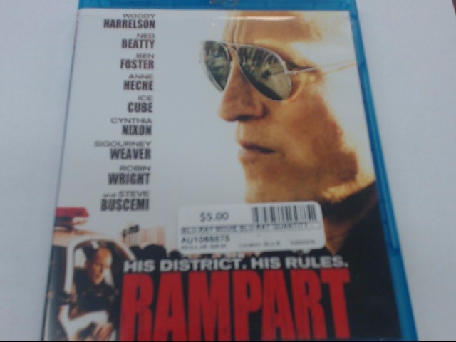 RAMPART - BLU-RAY MOVIE