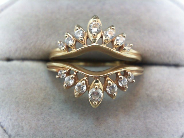 Lady's Gold Ring 14K Yellow Gold 4.5g