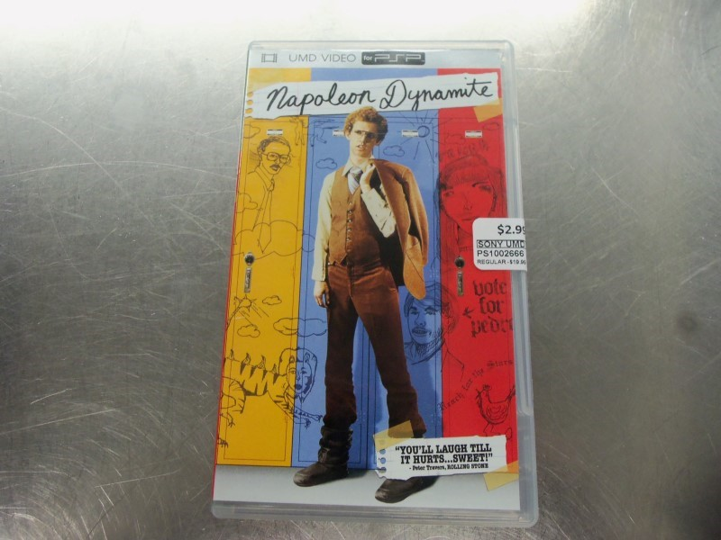 SONY UMD NAPOLEON DYNAMITE (PSP MOVIE) WITH CASE