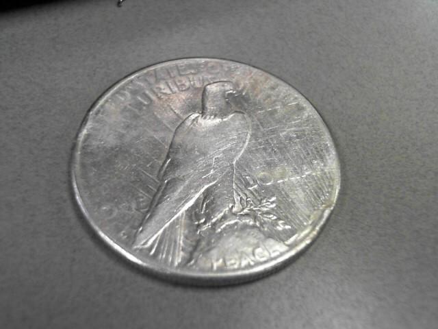 1922 PEACE DOLLAR 12.43GRAMS