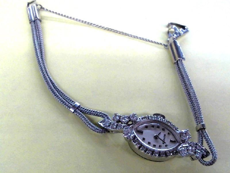 CROTON Lady's Wristwatch 14K/DIAMOND