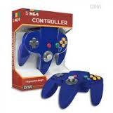 M&M MERCHANDISERS Nintendo 64 M05786BU BLUE CONTROLLER
