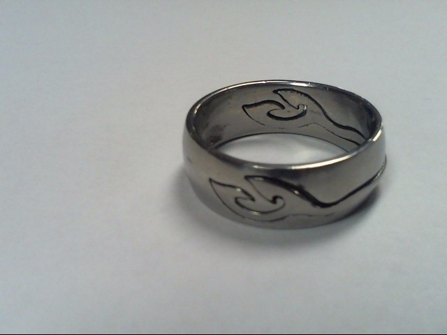 Gent's Ring Silver Stainless 6.6g SIZE 10