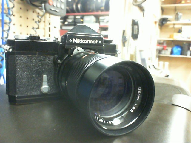 NIKKORMAT Film Camera FT