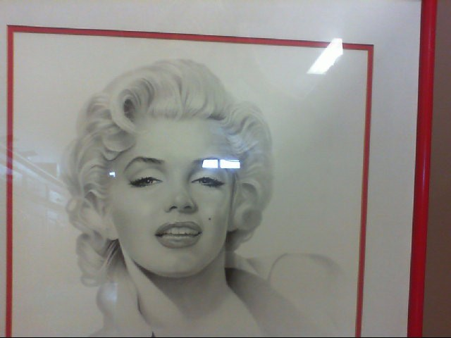 SIGNED/NUMBERED MARILYN PRINT