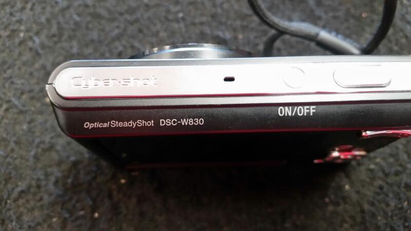 SONY Digital Camera DSC-W830
