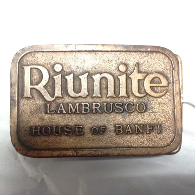 RIUNITE BELT BUCKLE