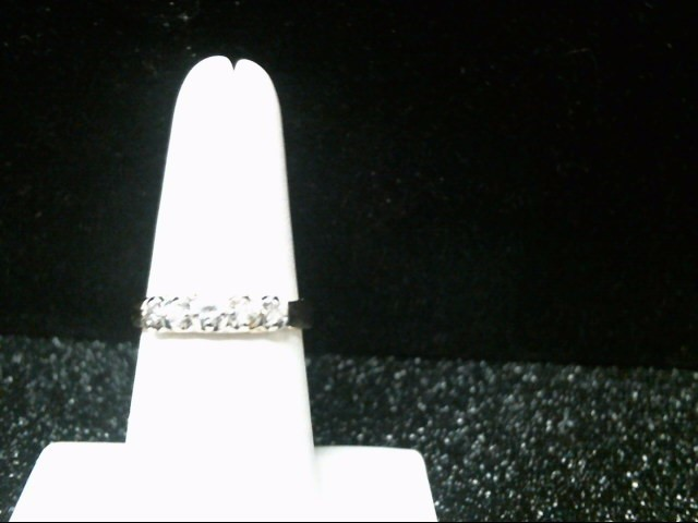 Lady's Gold-Diamond Anniversary Ring 5 Diamonds .26 Carat T.W. 14K Yellow Gold