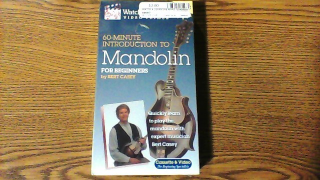 WATCH & LEARN VHS INTRO TO MANDOLIN