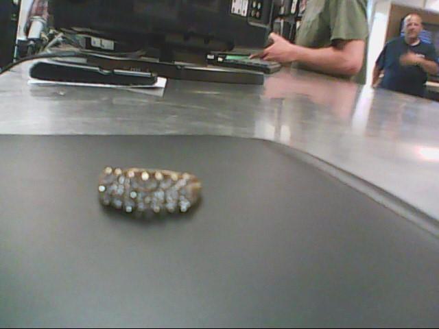 Lady's Diamond Cluster Ring 21 Diamonds .42 Carat T.W. 10K Yellow Gold 2.7g