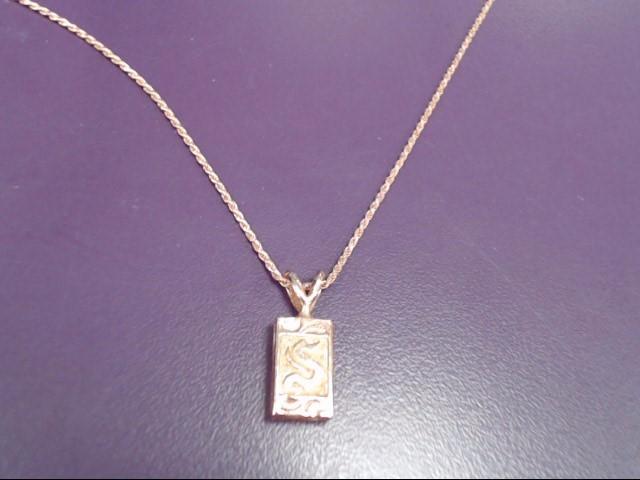 "18"" Gold Chain 14K Rose Gold 8.5g"
