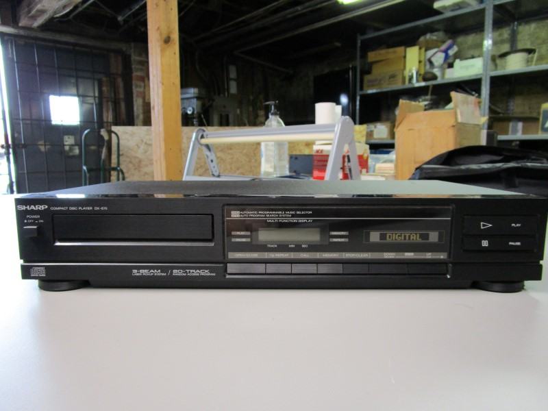 SHARP CD Player & Recorder DX-670