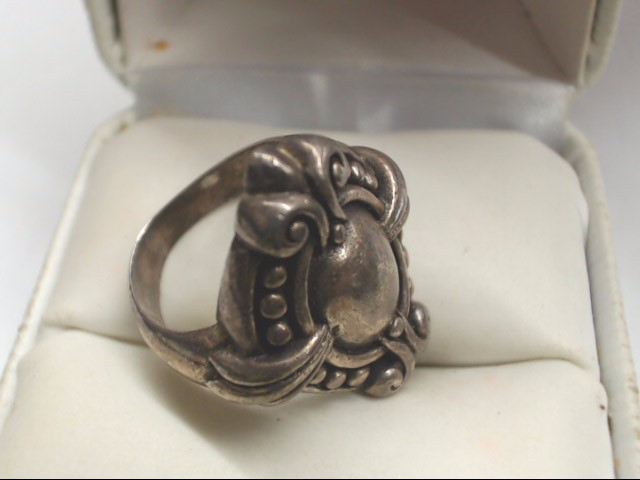 Lady's Silver Ring 925 Silver 10.6g Size:5.5