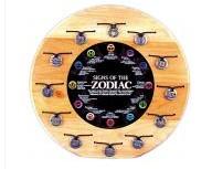 BENJAMIN INTERNATION 8060VI; ZODIAC PENDANT VIRGO ON BLACK CORD