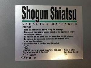 SHOGUN SHIATSU