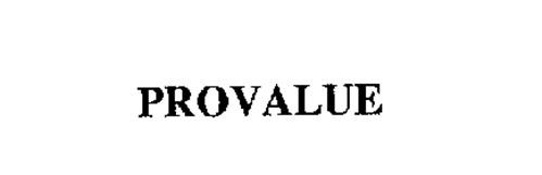 PROVALUE