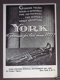 YORK MUSICAL INSTRUMENTS