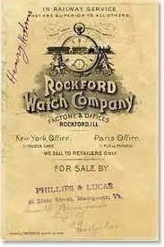 ROCKFORD WATCH CO