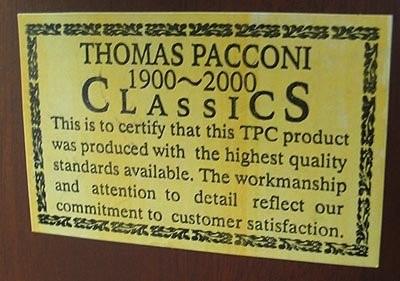 THOMAS PACCONI