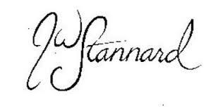 JW STANNARD