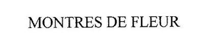 MONTRES DE FLEUR