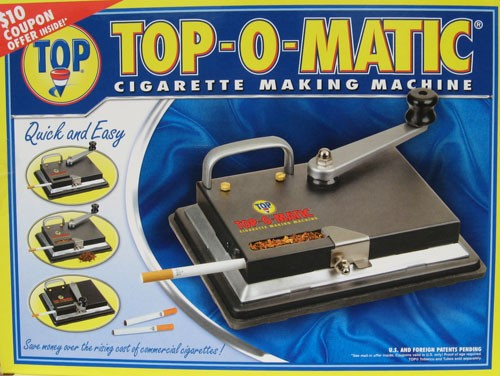 TOP-O-MATIC CIGARETTE MACHINE