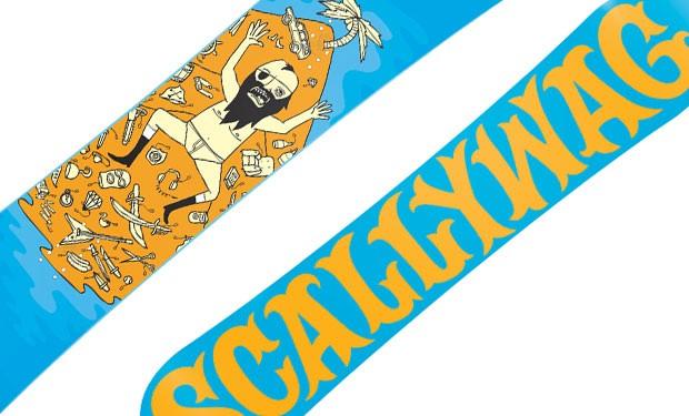 SCALLYWAG SNOWBOARD