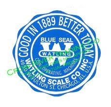 WAITLING SCALE COMPANY