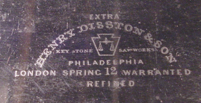 HENRY DISSTON & SONS