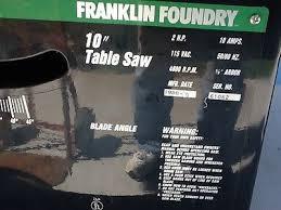 FRANKLIN FOUNDRY