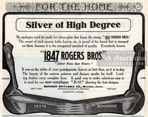 1847 ROGERS BROS.