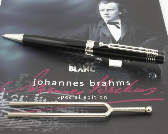 MONT BLANC JOHANNES BRAHMS