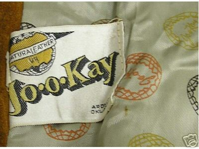 JO-O-KAY FASHIONS IN LEATHER