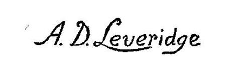 A.D. LEVERIDGE