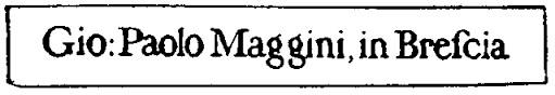 GIUSEPPE MAGGINI
