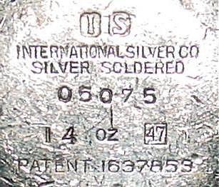 INTERNATIONAL SILVER COMPANY